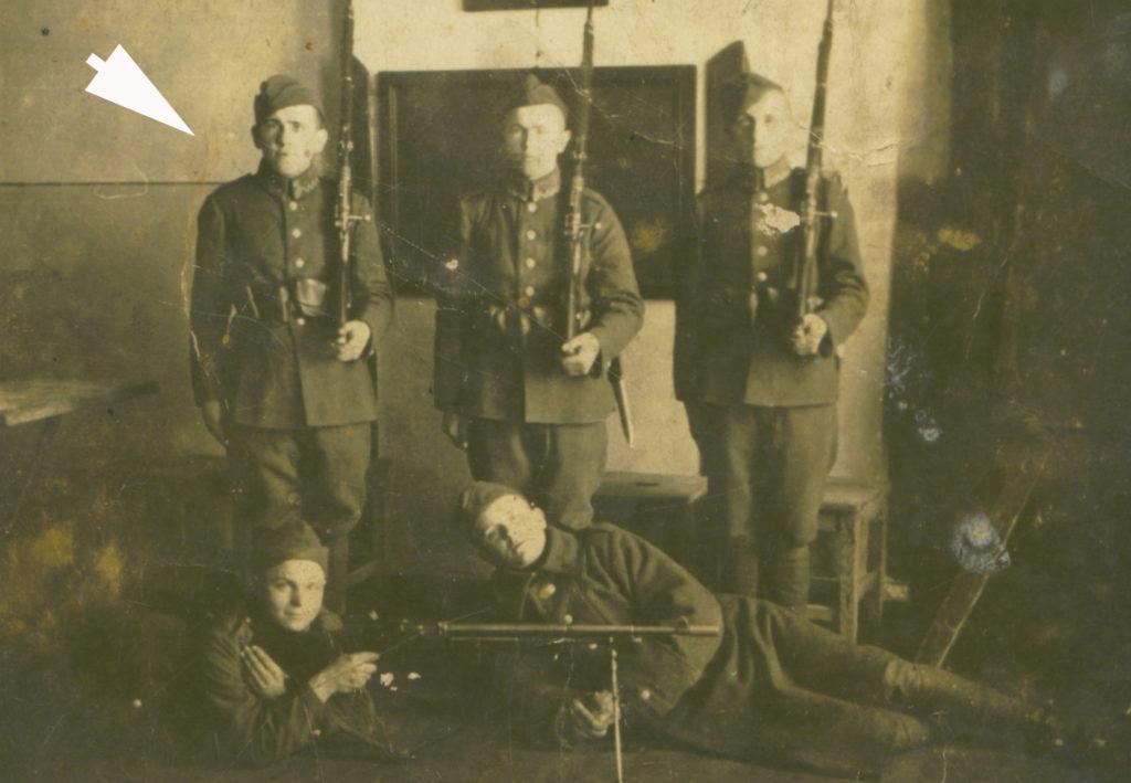 Stanisław Terek w wojsku w Lublinie
