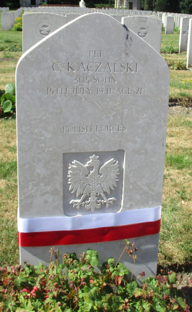 Becklingen. Plutonowy strzelec pokładowy Czesław Kaczalski. Fot. Grzegorz Dabrowski
