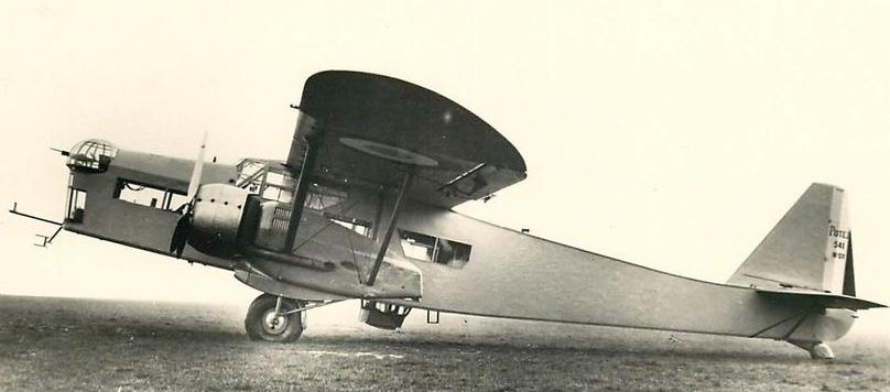 Francuski bombowiec Potez 541